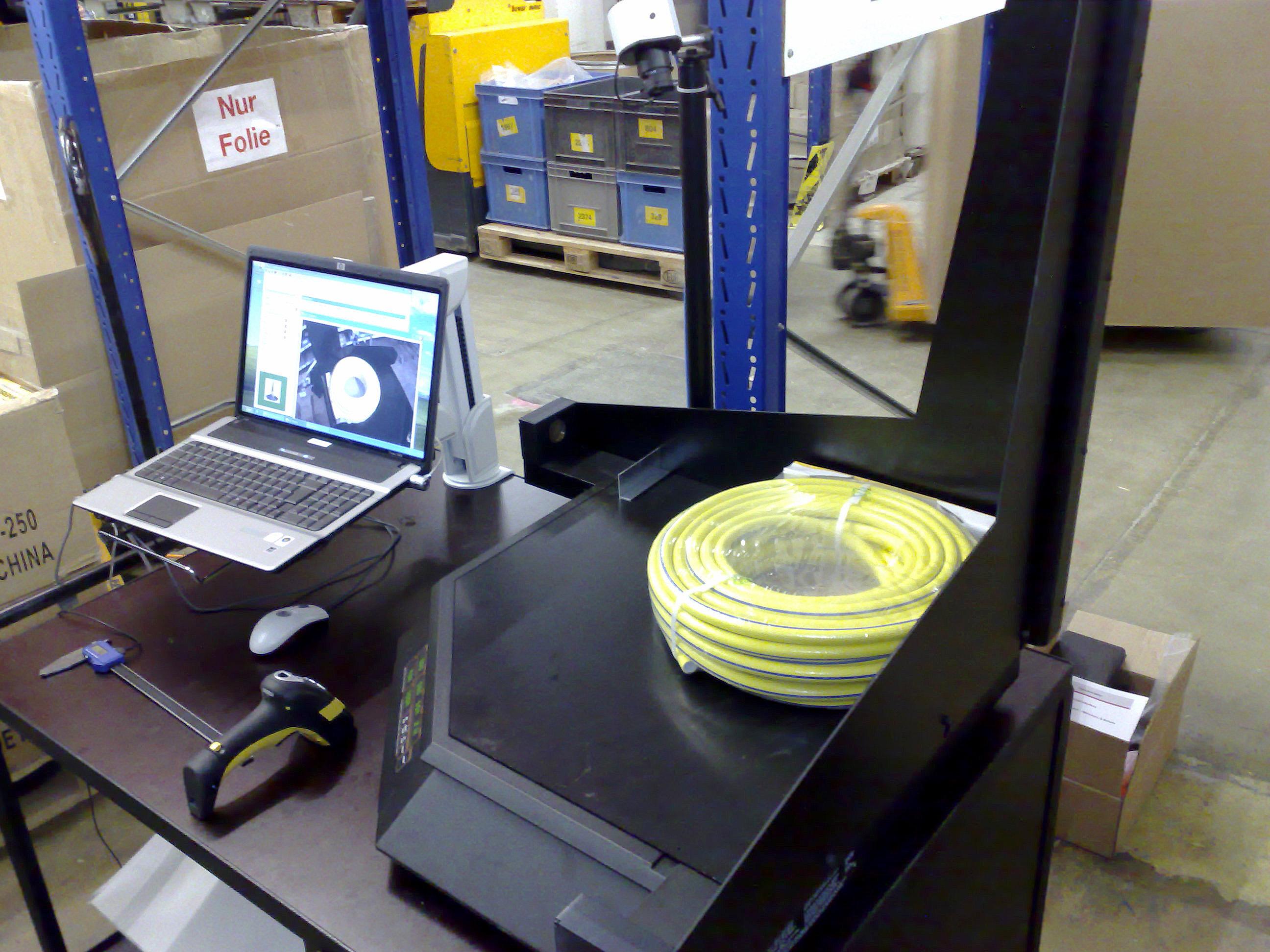 Cubiscan Volumenmessung Hardware Software Lagerverwaltung Wms Produktvermessung Wawi Lagerhaltung