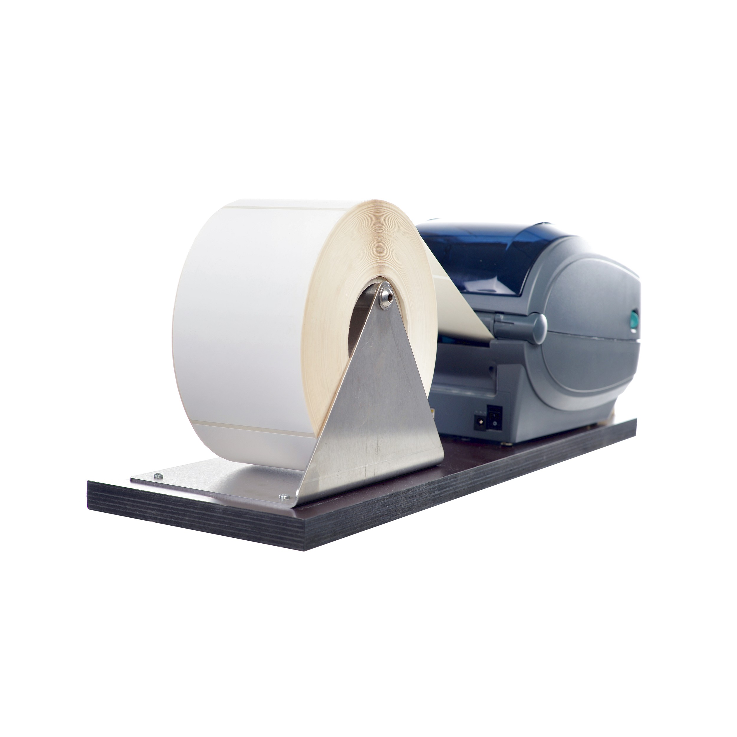 Etikettendrucker Etiketten Drucken Rolle Versandetiketten Rollenhalterung Halterung Versand Logistik Hardware 2