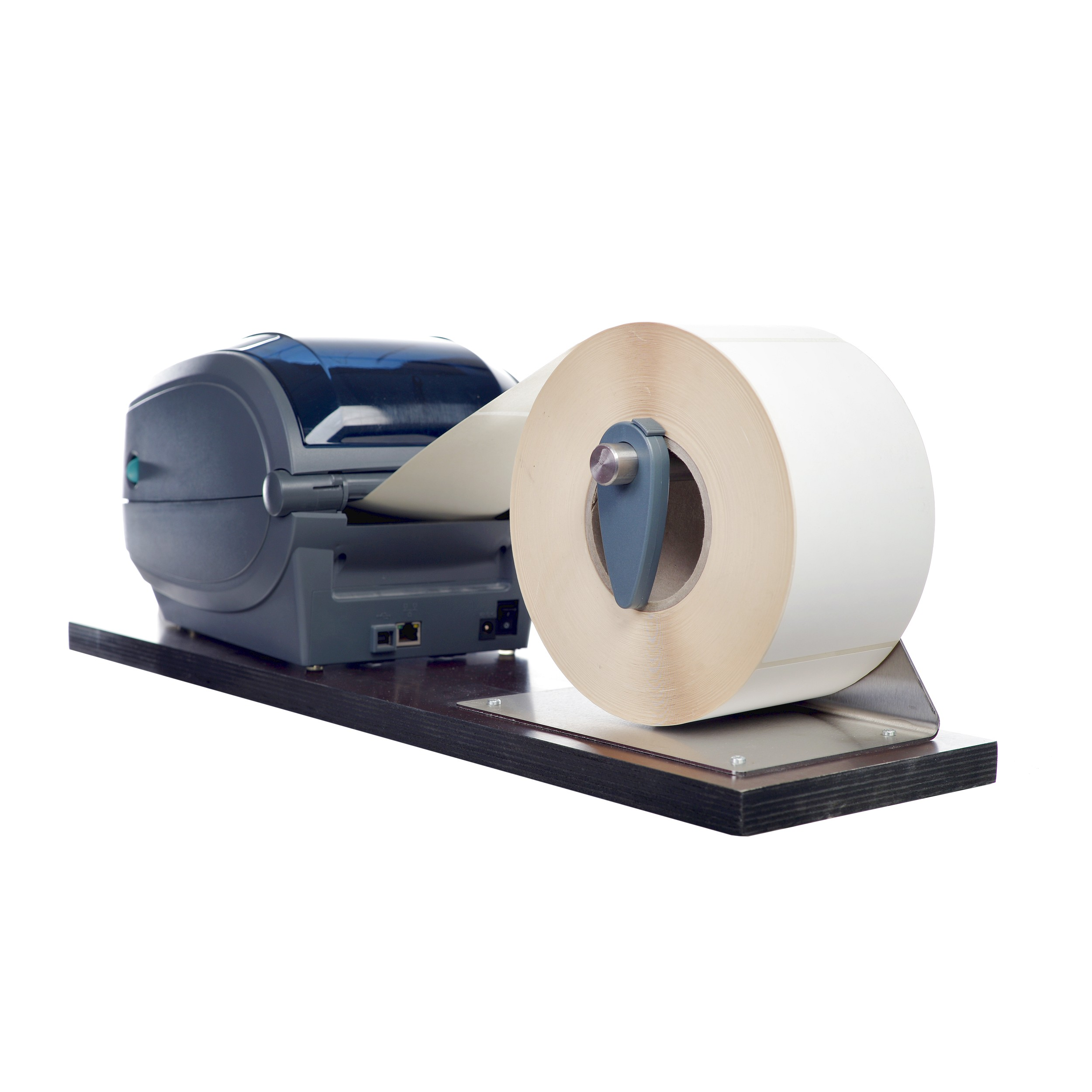 Etikettendrucker Etiketten Drucken Rolle Versandetiketten Rollenhalterung Halterung Versand Logistik Hardware 3