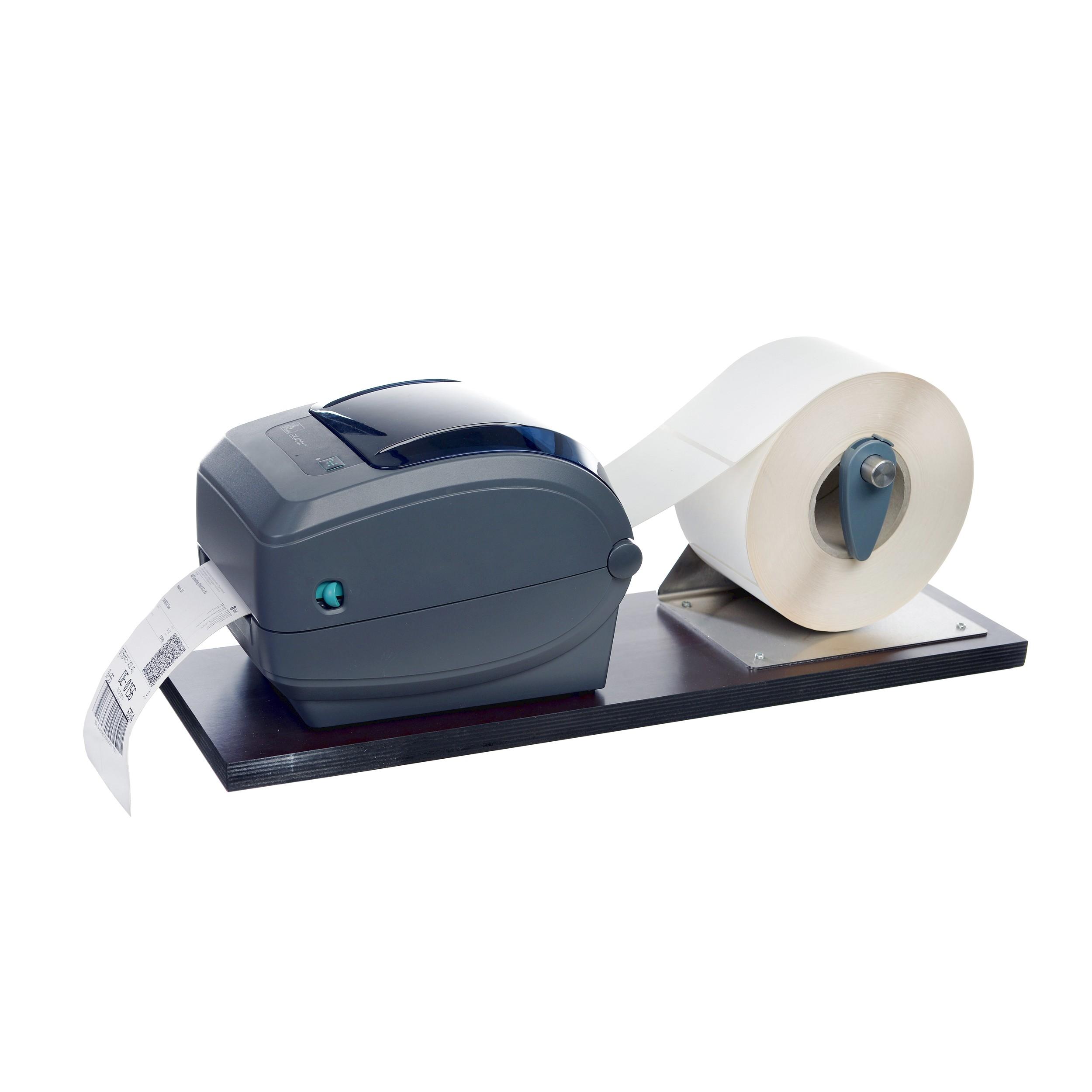 Etikettendrucker Etiketten Drucken Rolle Versandetiketten Rollenhalterung Halterung Versand Logistik Hardware 5