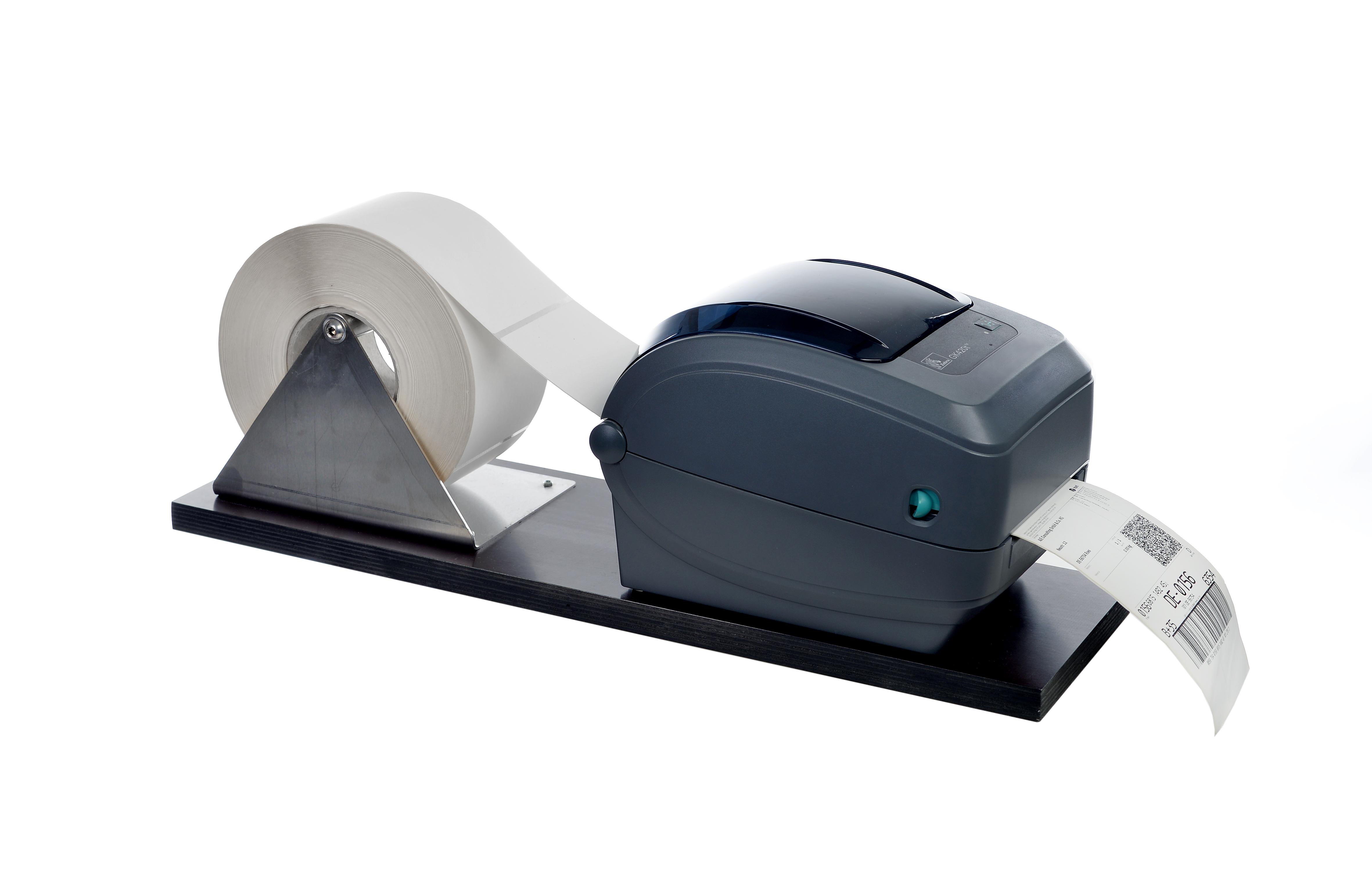 Etikettendrucker Etiketten Drucken Rolle Versandetiketten Rollenhalterung Halterung Versand Logistik Hardware